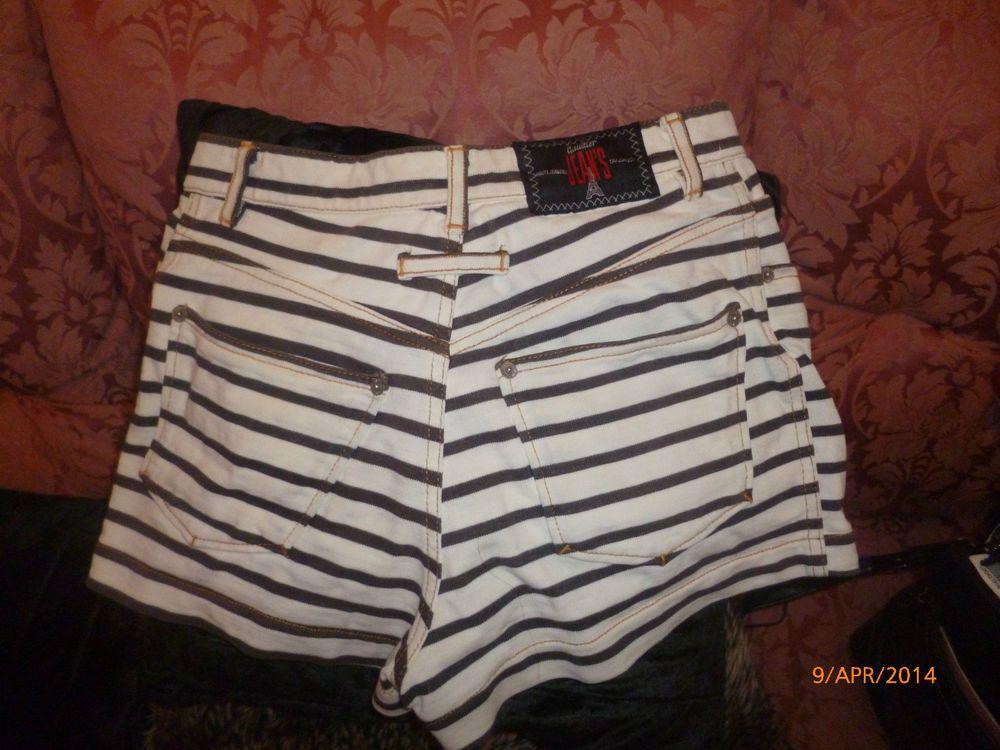jean paul gautier womens hot pants  http://www.ebay.co.uk/itm/151283778935?ssPageName=STRK:MEWAX:IT&_trksid=p3984.m1423.l2649