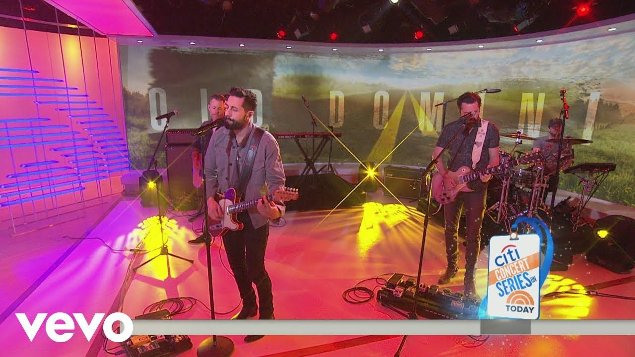 Old Dominion - Written in the Sand ❤️(Live on NBC's Today