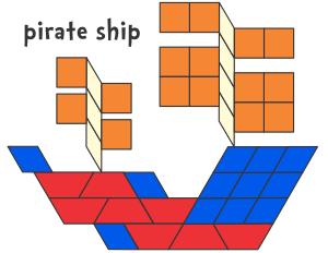 Pirates Pattern Block Templates Pattern Blocks Pattern Block