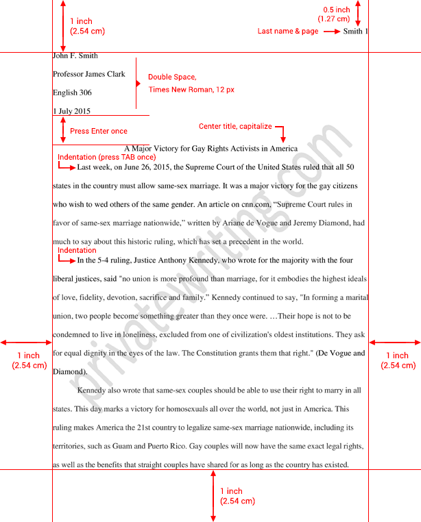 Essays For High School Students Essay Formatting Mla Standard Sample Essay Enclosed  Science Fiction Essay also Examples Of Thesis Statements For Essays Essay Formatting Mla Standard Sample Essay Enclosed  Essay For Students Of High School
