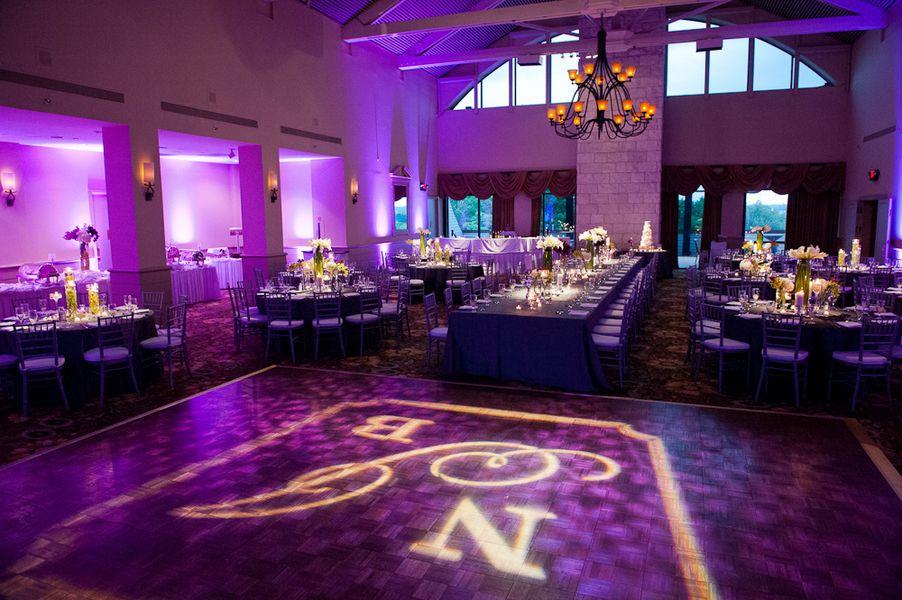 Purple Fuschia Wedding Theme And Austin Texas Natalie Brian Colors