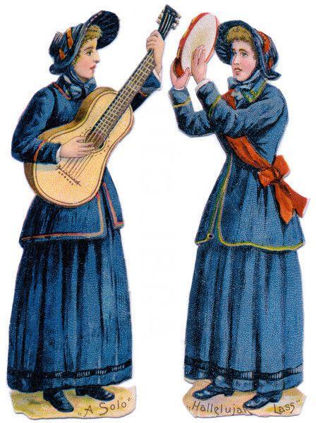 Hallelujah Women-Salvation Army.