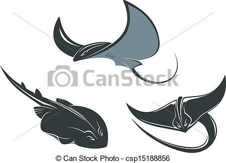 ea1cf382b55d3 Stingray Illustrations and Clipart. 295 Stingray royalty free ...