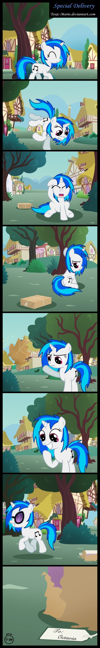 Special Delivery By Toxic Mario Mlp Pinterest
