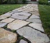 Path to patio