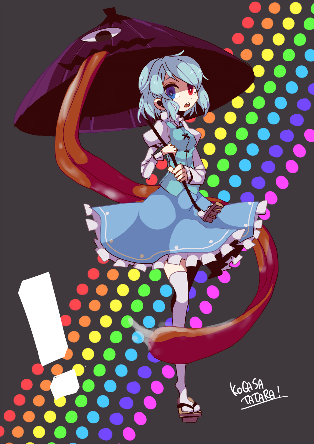Pin by Phoenixwing on Kogasa Tatara Touhou Project (東方
