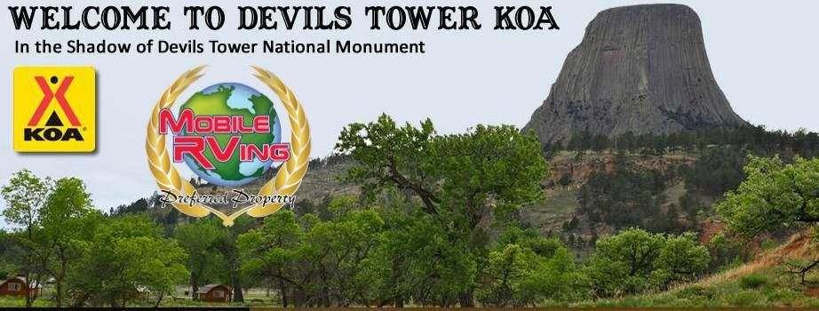 Devils tower koa where the view says it all lying in