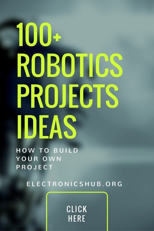100+ Robotics Projects for Final Year Engineering Students ...