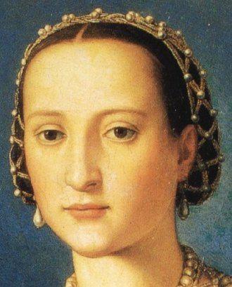 Agnolo Bronzino - Eleonora di Toledo e il figlio Giovanni de' Medici, dettaglio - 1544-1545 - Galleria degli Uffizi, Firenze