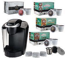Keurig K45 Coffee Maker with My K Cup 48 K Cup Packs & Water