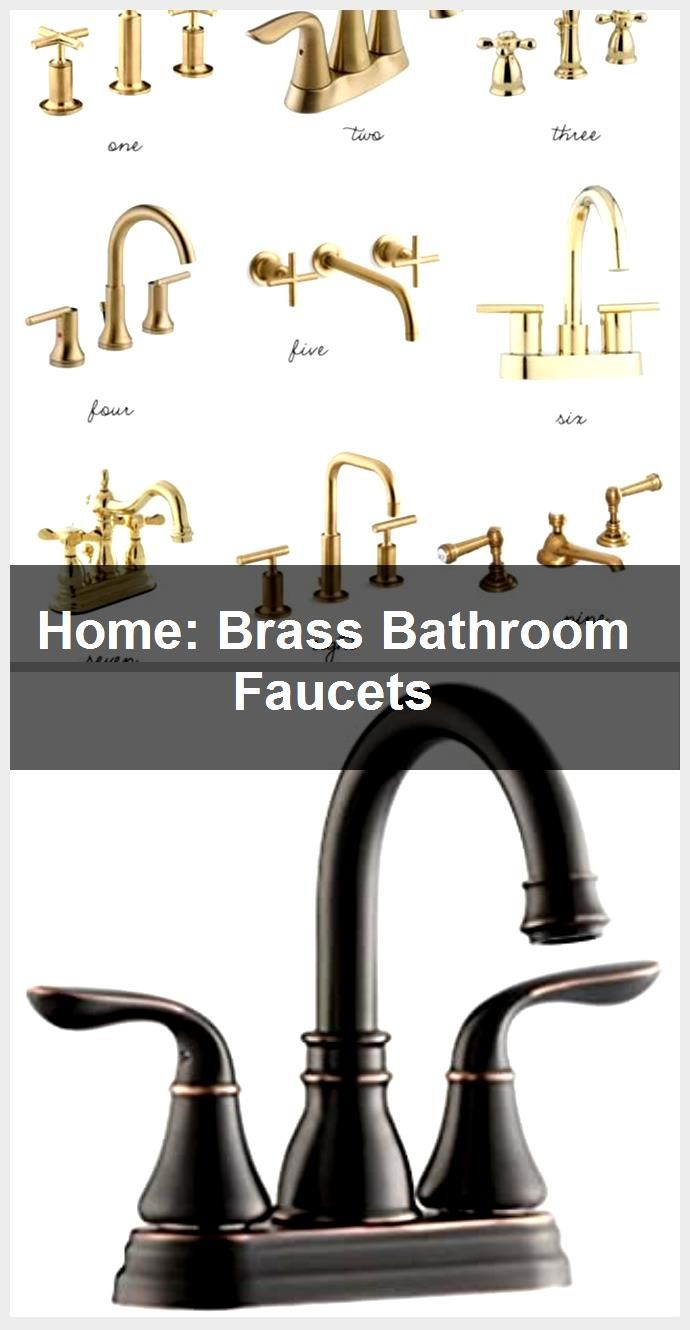 Photo of Home: Brass Bathroom Faucets, #Bathroom #Brass #Faucets #Home