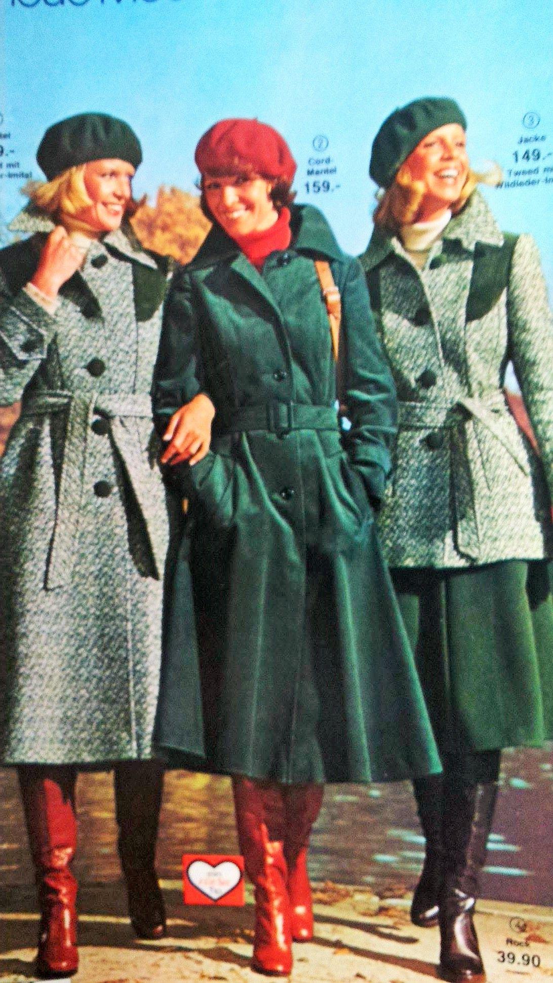 Swinging Green Coat1975