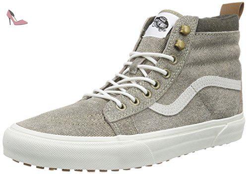 Vans U Sk8-hi MTE, Sneakers Hautes Mixte Adulte - Noir (Black/True White), 42 EU