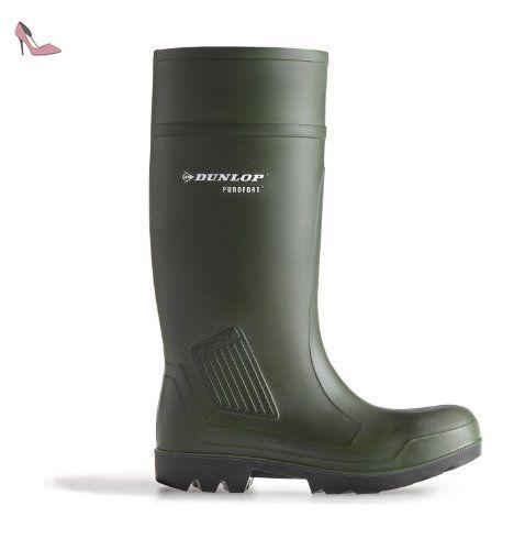 Dunlop Puorfort Professional Full Safety - Zapatos, unisex, color grün, talla 41