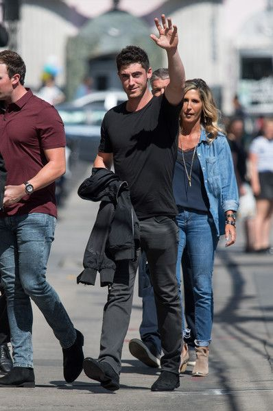 Cody Bellinger Photos - Cody Bellinger is seen at 'Jimmy Kimmel Live' in Los Angeles, California. - Cody Bellinger At 'Jimmy Kimmel Live'