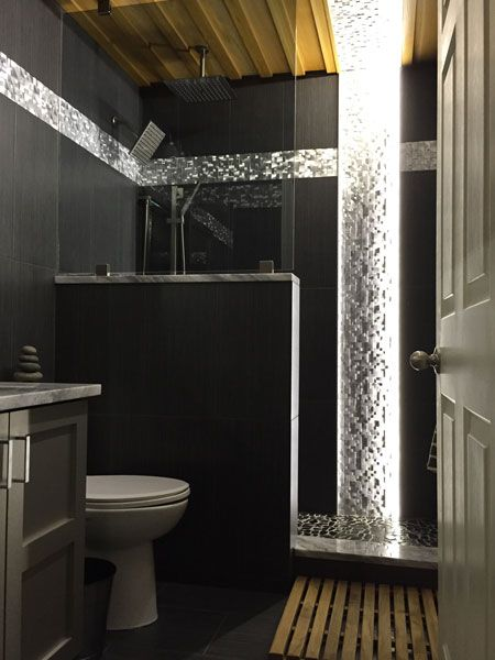 Bathroom Lighting Leicester led bathroom lighting using 12vdc warm white led strip light with