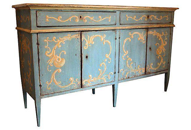 Mobili Decorati ~ Italian paint mobili decorati