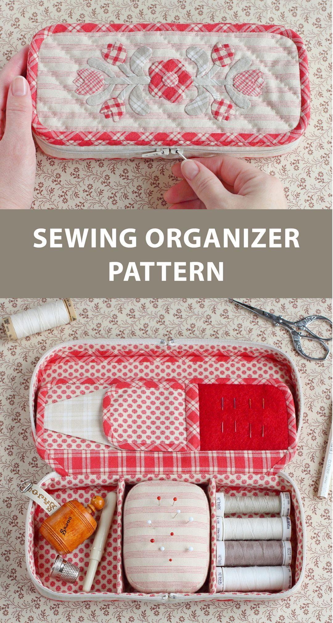Patrón De Costura Pdf Tutorial De Costura Patrón De Kit De Costura De Viaje Patrón Organiza Sewing Kit Pattern Sewing Kit Organizer Sewing Organizer Pattern