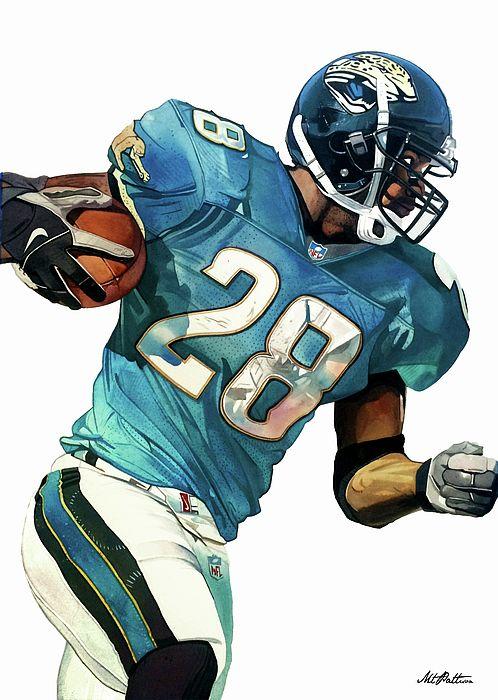 Pin By Arturrr On Artist Michael Pattison Gallery Nfl Football Art Jacksonville Jaguars Jaguars Football