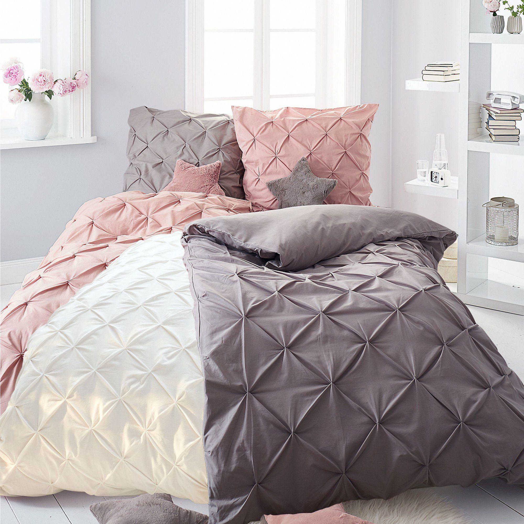 Bettwasche Finja Altrosa 135 X 200 Cm Bestellen Weltbild De Bettwasche Bett Ideen Bett