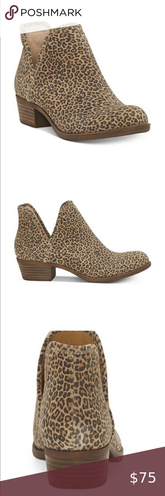 lucky baley bootie leopard