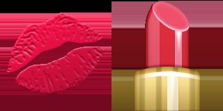 Guess Up Emoji Lipstick Png 320 160 Pixels Emoji Lipstick Emoticon