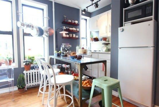 20 ways to squeeze a little extra storage out of a small kitchen small apartment kitchen on kitchen organization small apartment id=42893