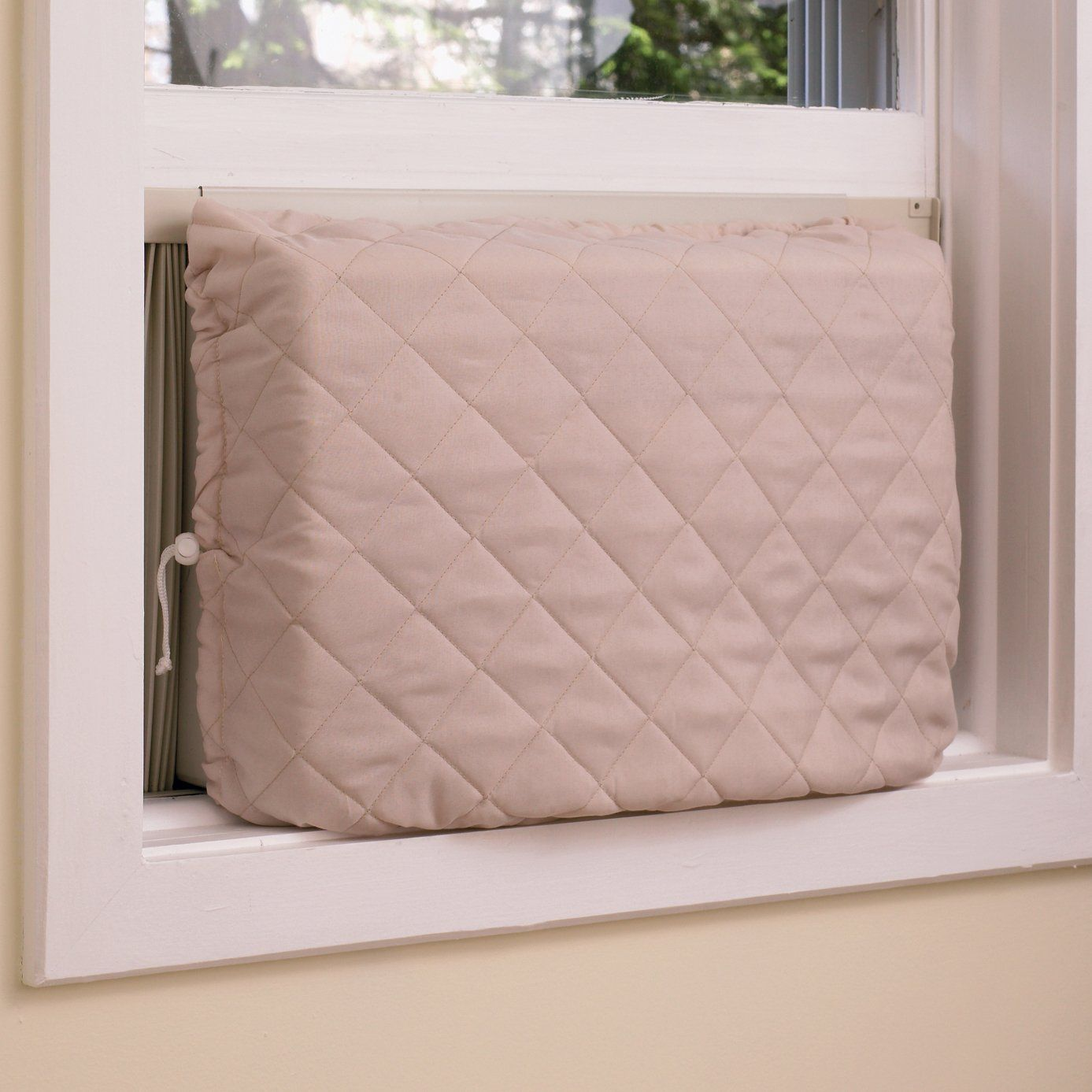 A/C cover (interior) insulated (Amazon) Indoor air