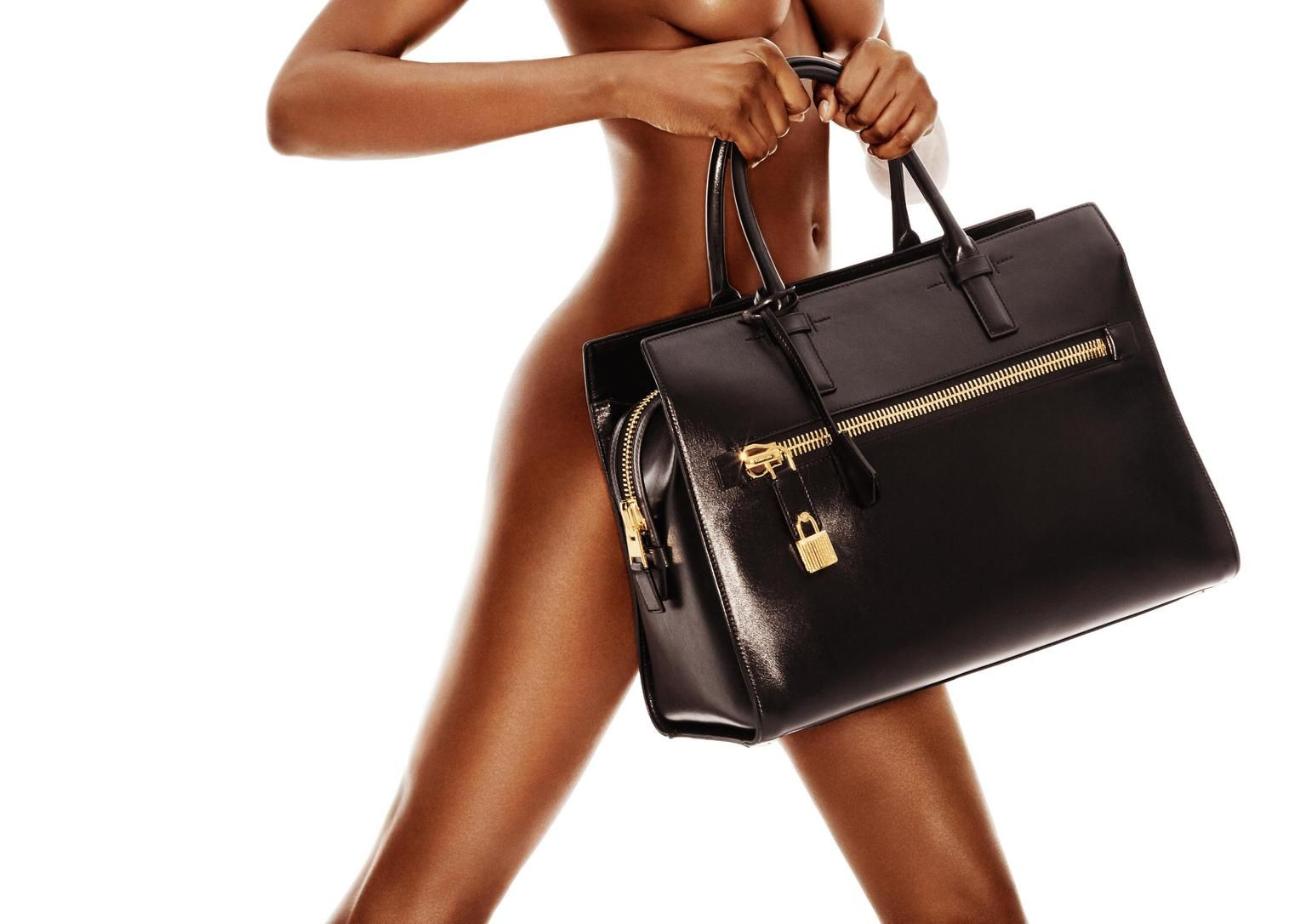 Charlotte Large Leather Tote Tom Ford Online