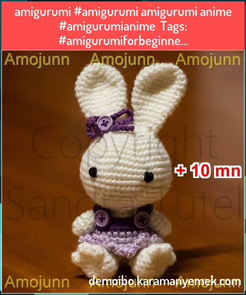 Amigurumi Stuffed Animals & Cuddly Toys Crochet Doll Pattern ... | 608x508