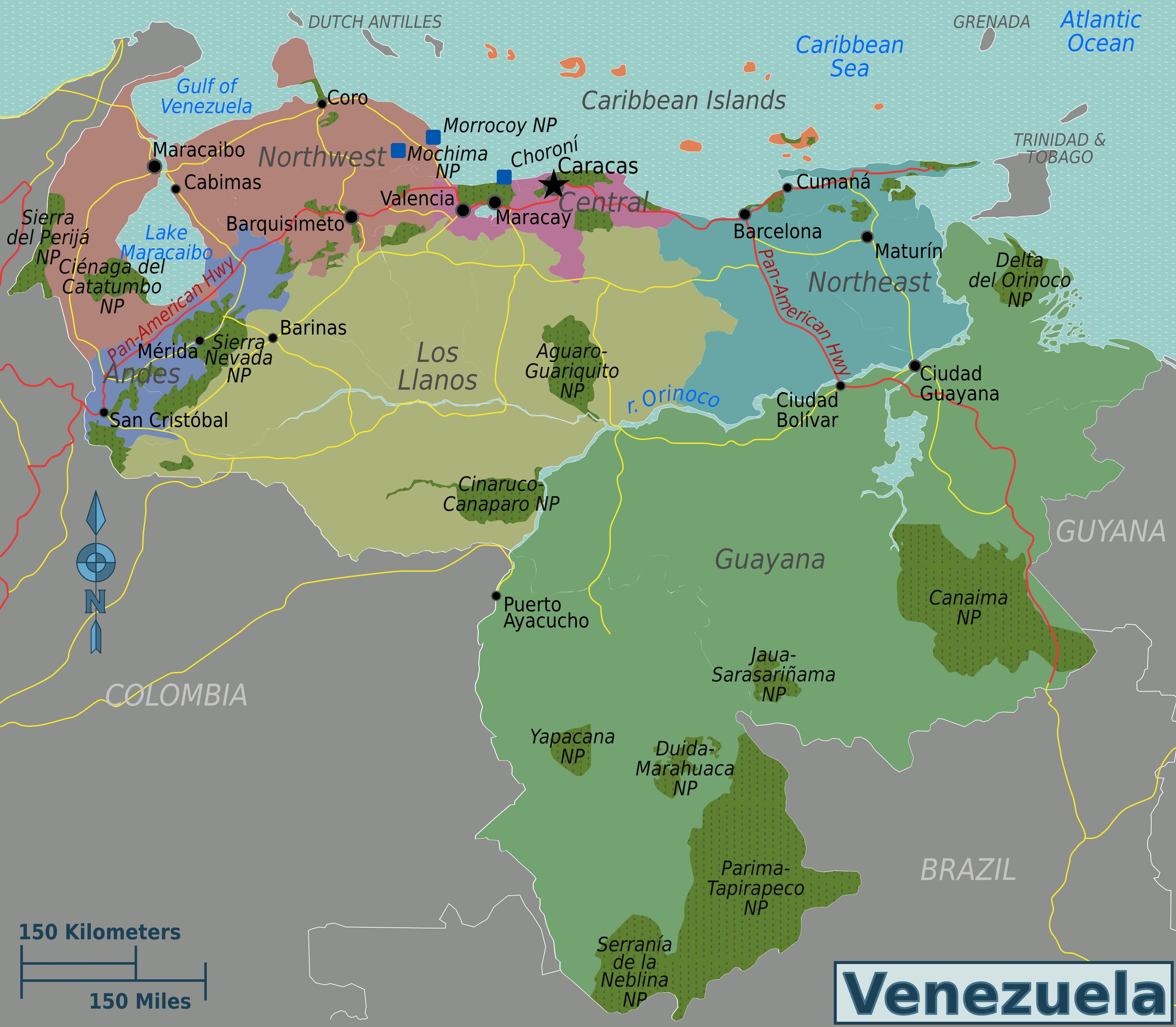 Map Venezuela Venezuela Bonita Pinterest Venezuela