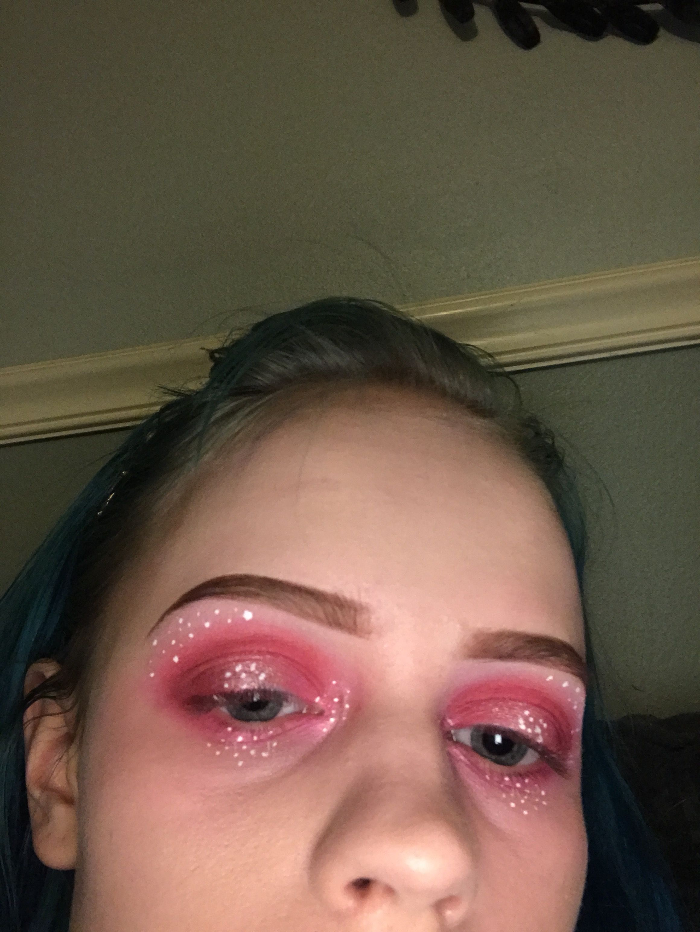 Pink Avant Garde Eye Makeup Makeup Looks Pinterest Avant
