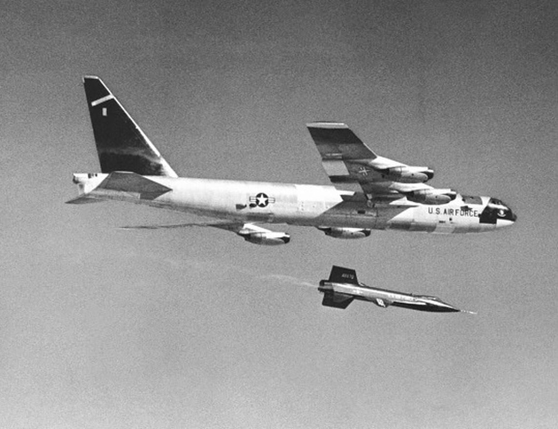 The first one flew in 1952. And the youngest one in the Air Force -- and there are about 90 total -- is still flying after a half-century.