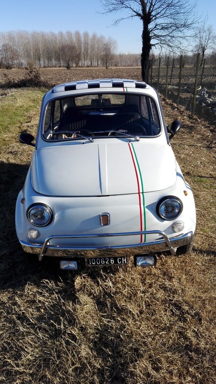 Oggi In Vendita Una Fiat 500 L Bianca Del 1974 In Eccellente Stato