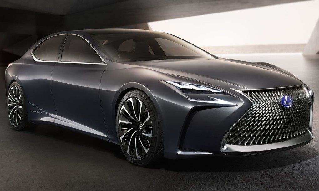 The Lexus LF-FC is a hydrogen-powered future machine | Hydrogen car
