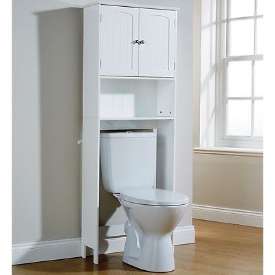 Storage Unit Cupboard Toilet Seat