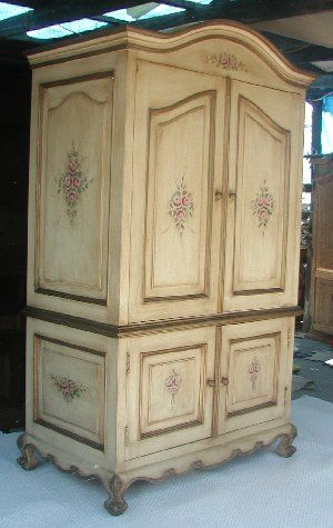 Charmant Country French Armoire | Renaissance Architectural   Renaissance Hand  Painted Armoires