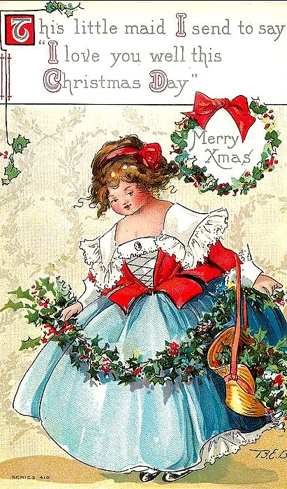pinpenny lane on old fashioned christmas  vintage