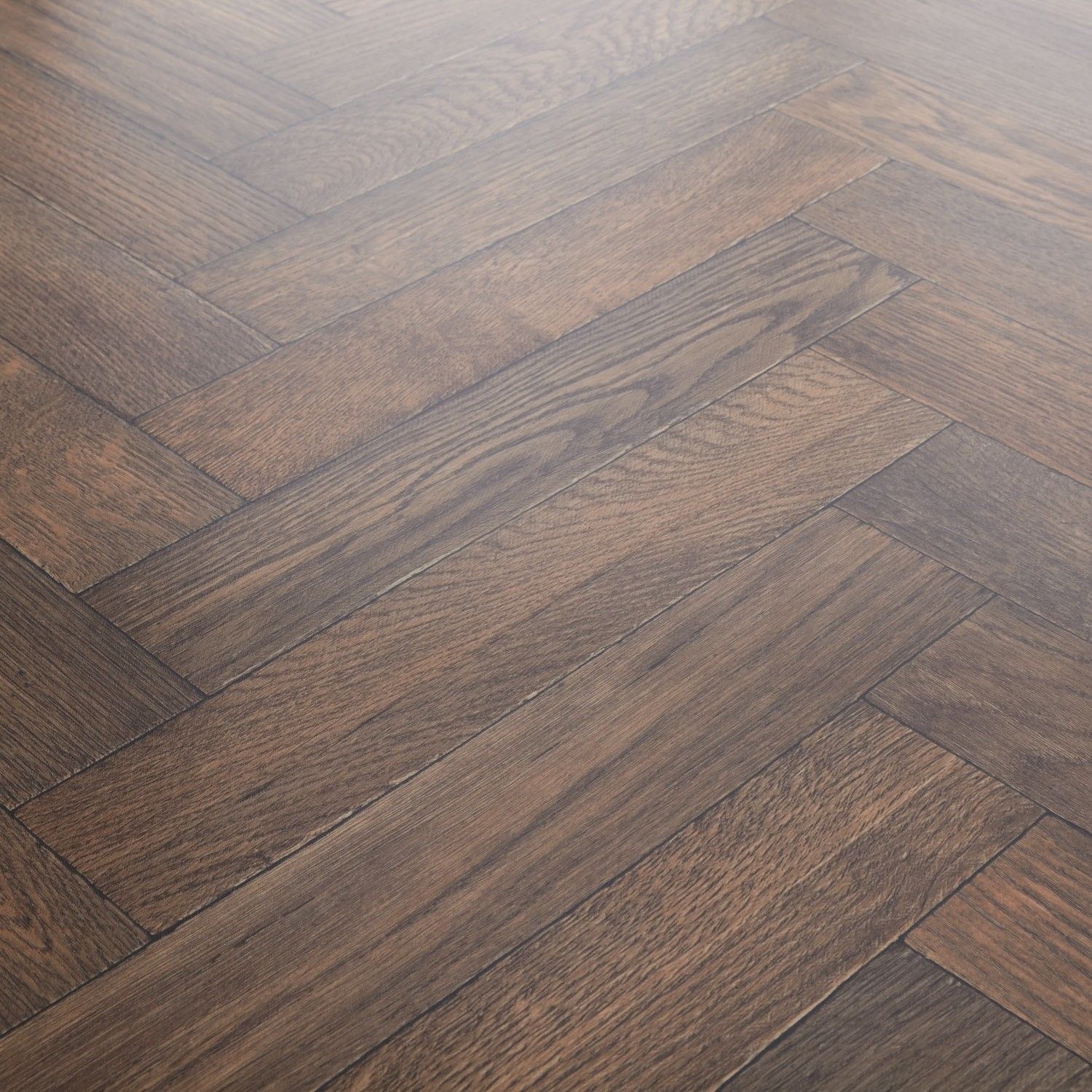 Rhino Champion Valley Antique Oak Parquet Vinyl Flooring