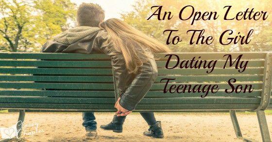 dating my teenage son