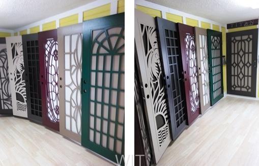 our titan security door showroom in redlands ca