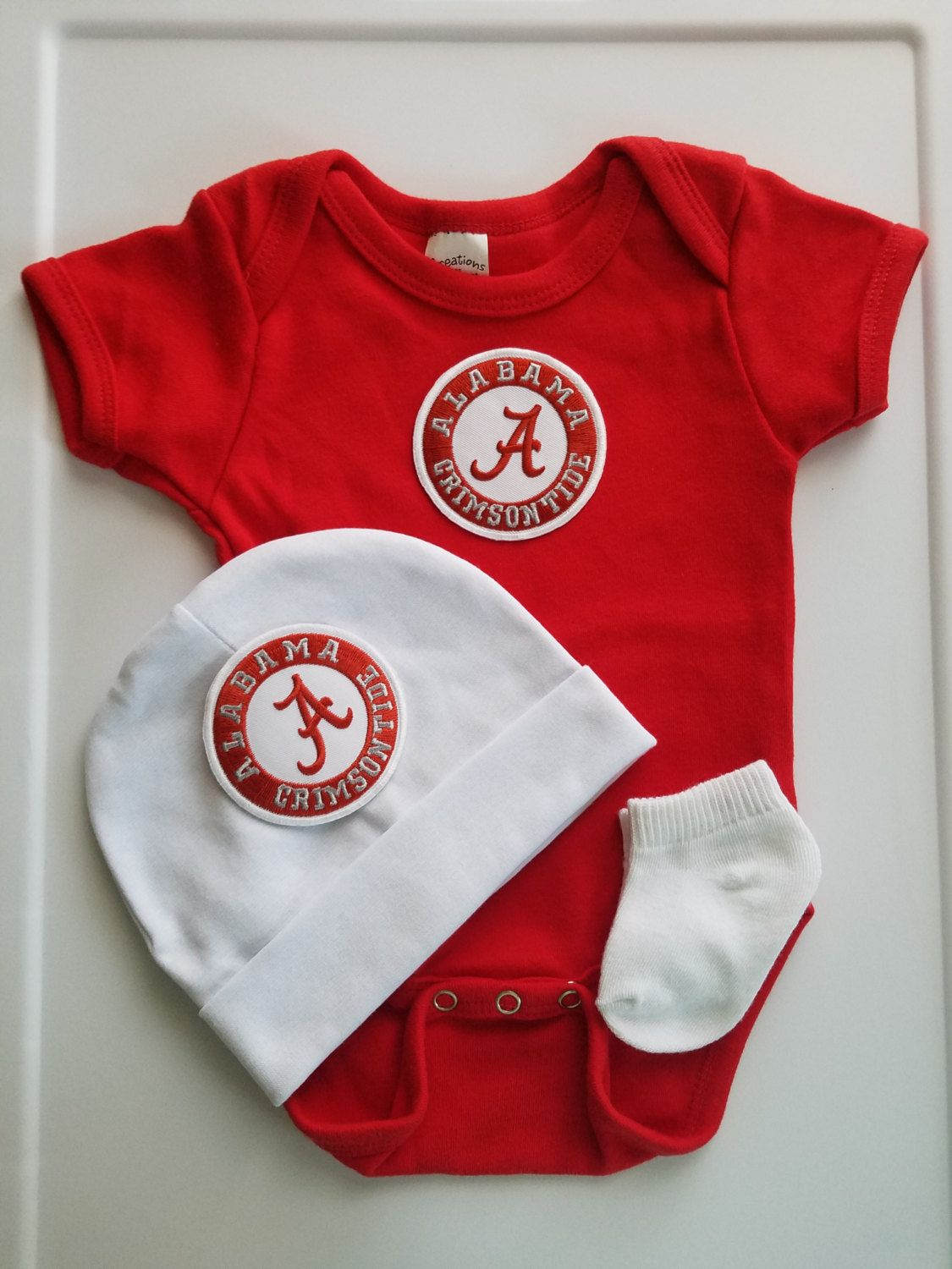 e1d78af21f47 baby boy Alabama outfit with hat-alabama baby boy shower gift-bama ...