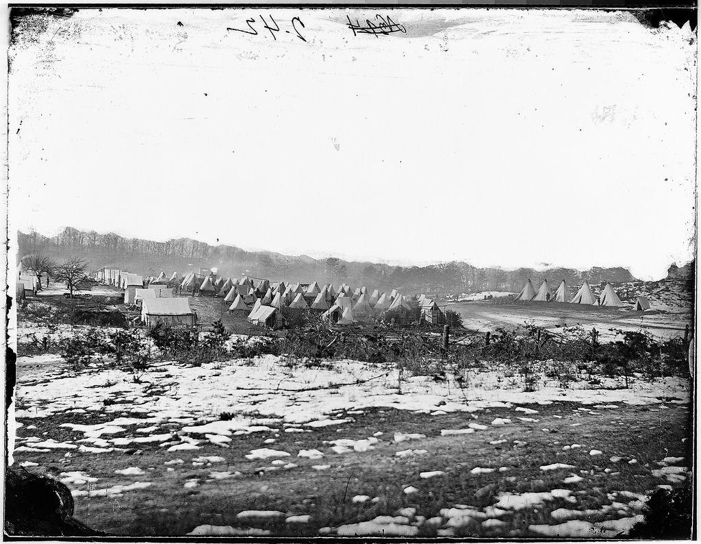 Camp scene   Winter quarters, Civil wars and American ...