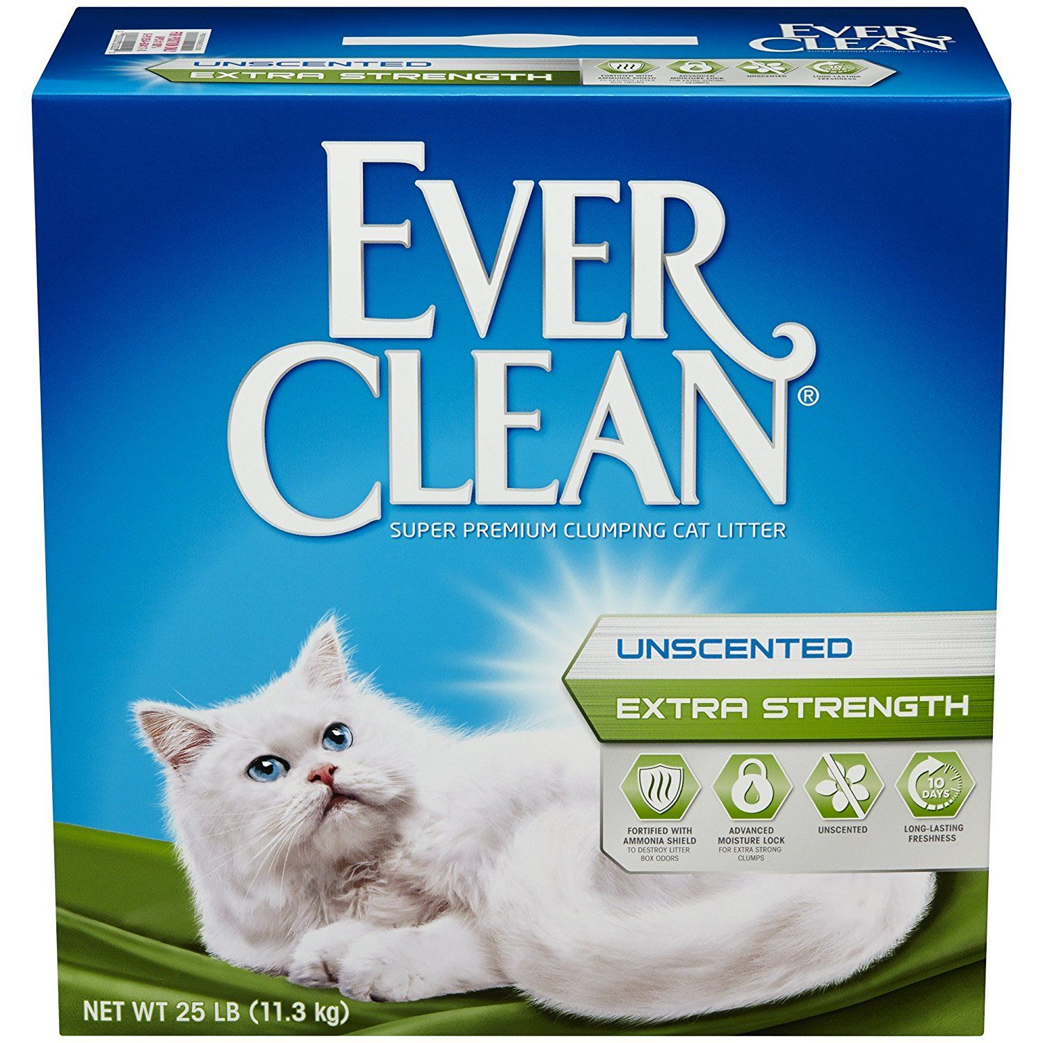 Ever Clean Extra Strength Cat Litter, Unscented, 25Pound