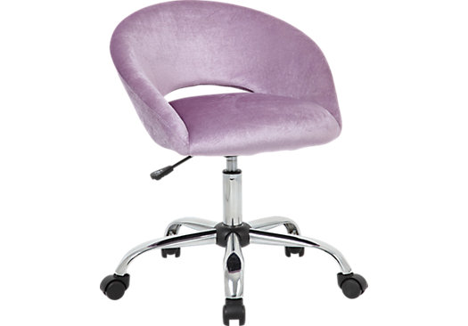 picture of Healy Purple Desk Chair from Desk Chairs ...