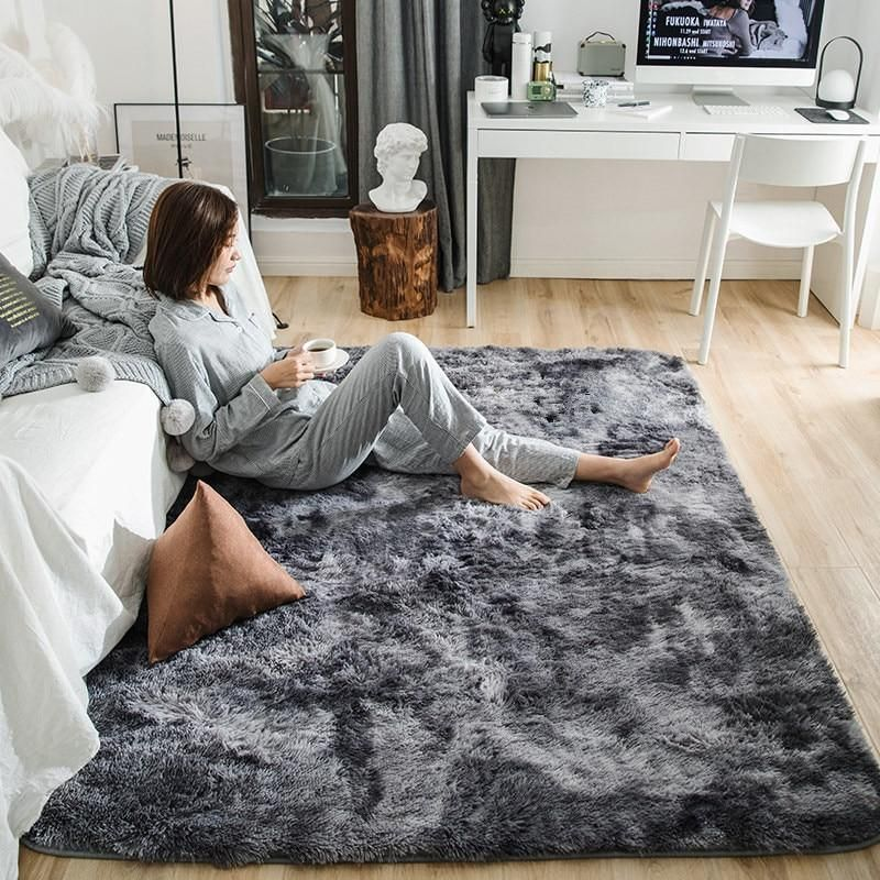 Motley Plush Carpets For Living Room Soft Fluffy In 2020 Bedroom Flooring Living Room Carpet Area Rug Dining Room