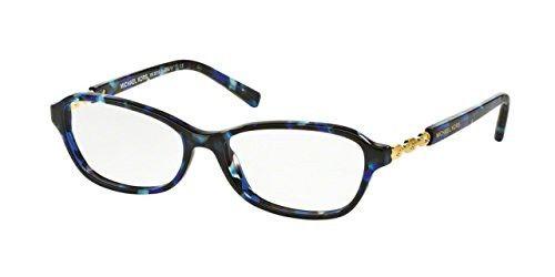 Michael Kors MK8019F Eyeglass Frames 3109-53 - Blue Tortoise/gold ...
