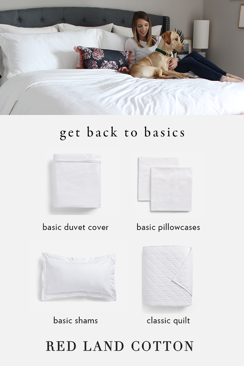 Create A Solid Foundation In Your Bedroom With Our Basic Collection Made 100 In The Usa From Cotton Grown On Basic Duvet Cover Pretty Bedroom Heirloom Linens