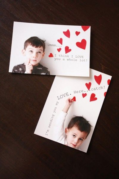 personalized valentine photo card ideas via iheartfaces com