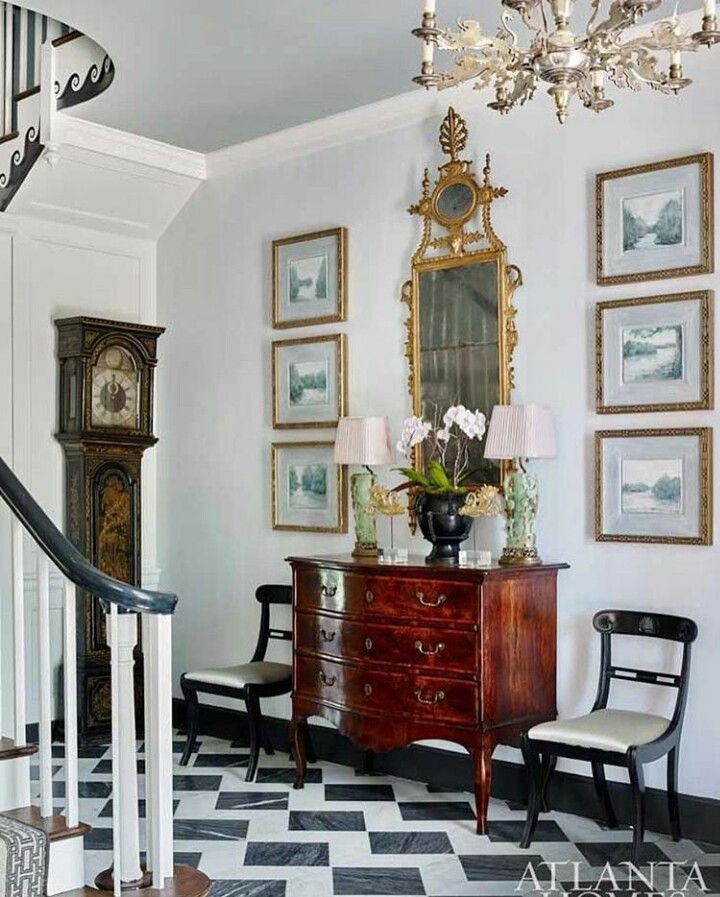 French Country Hallway Ideas Decor: Pin By Pinky Vashisht On Entryway, Foyer....